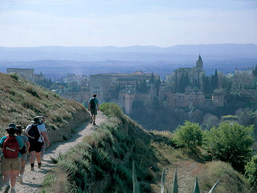 Walking holidays in spain for singles
