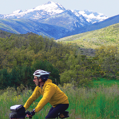 bike through the Gredos