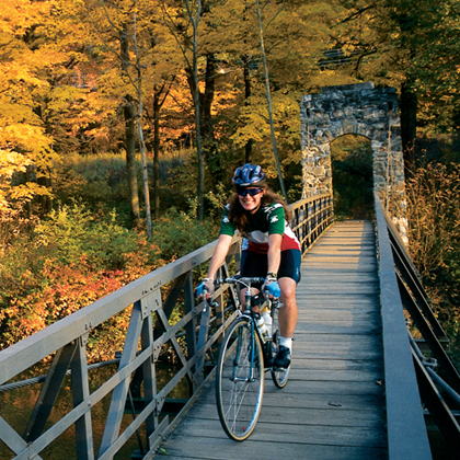 Cycling in New England - Stockbridge, MA