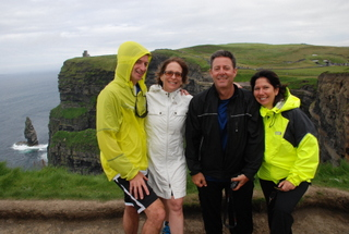 Cycling to the Cliffs of Moher