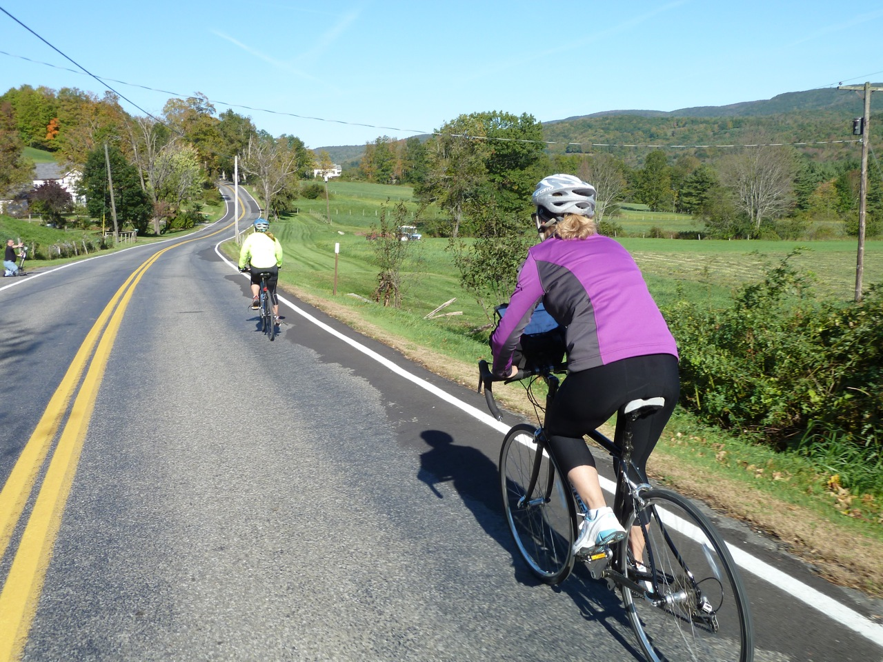 Berkshires Tri-state Ride: quiet biking roads lead into NY and VT